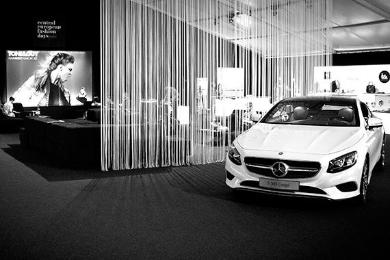 A Mercedes támogatóként a 2014-es Central European Fashion Days rendezvényen